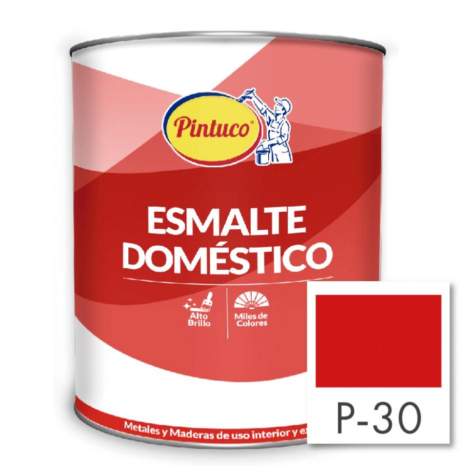Esmalte Doméstico Rojo fiesta P-30