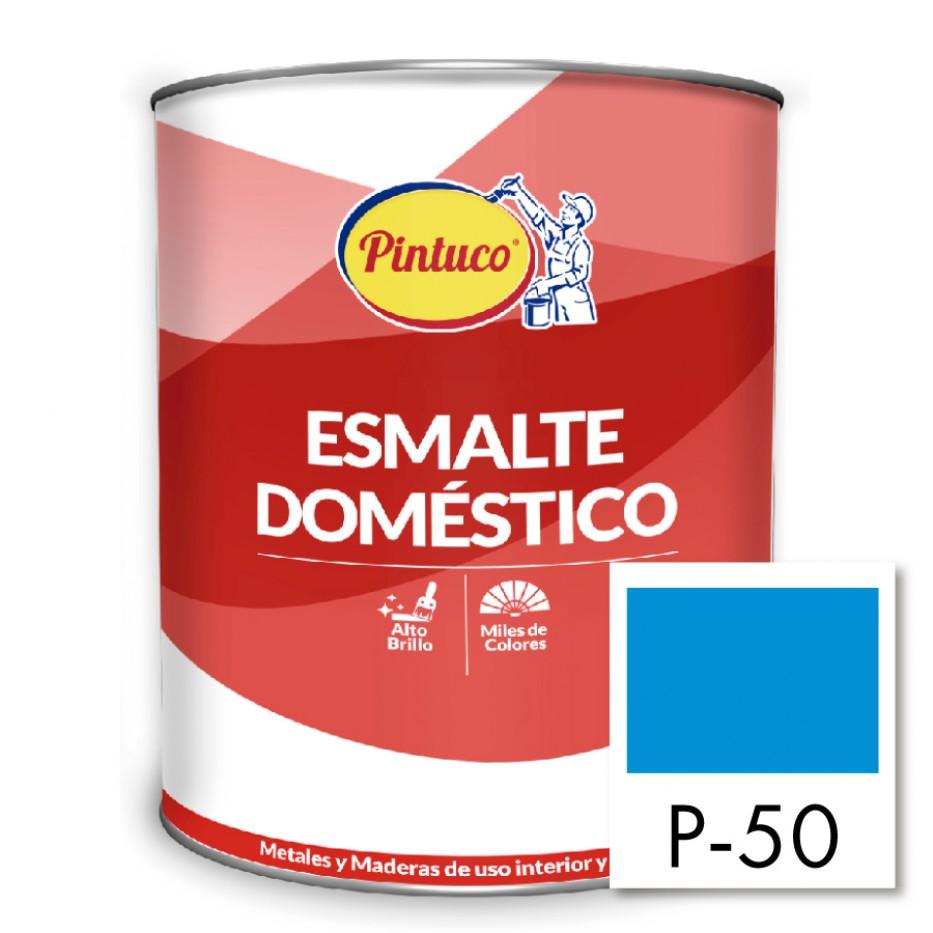 Esmalte Doméstico Azul verano P-50