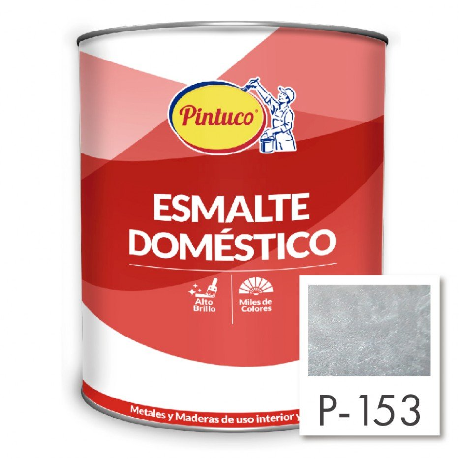 Esmalte Doméstico Aluminio P-153