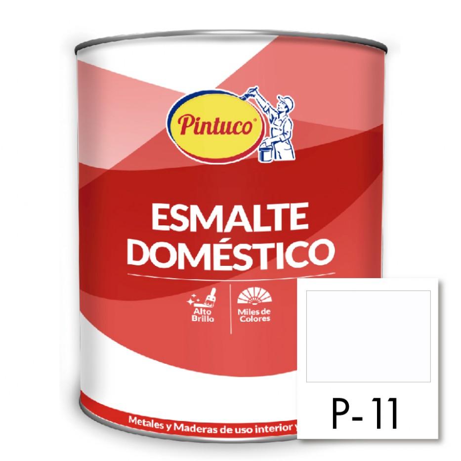 Esmalte Doméstico Blanco brillante P-11