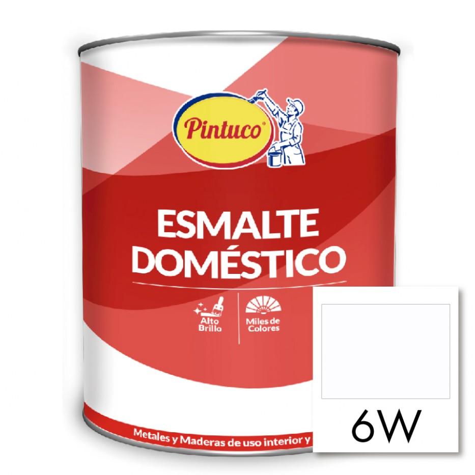 Esmalte Doméstico Blanco mate 6W
