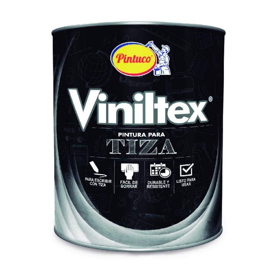 Viniltex Tiza Negro pizarra 1/4 galón