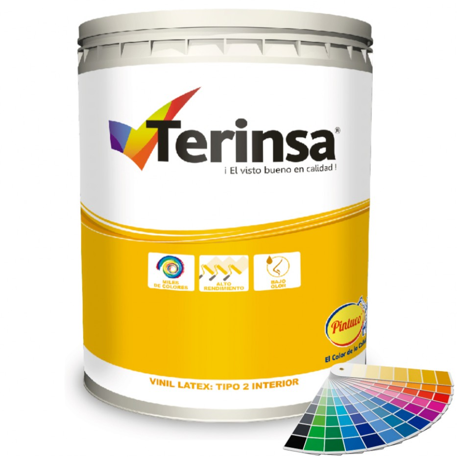 Pintura Terinsa Vinil latex/Tonalidades