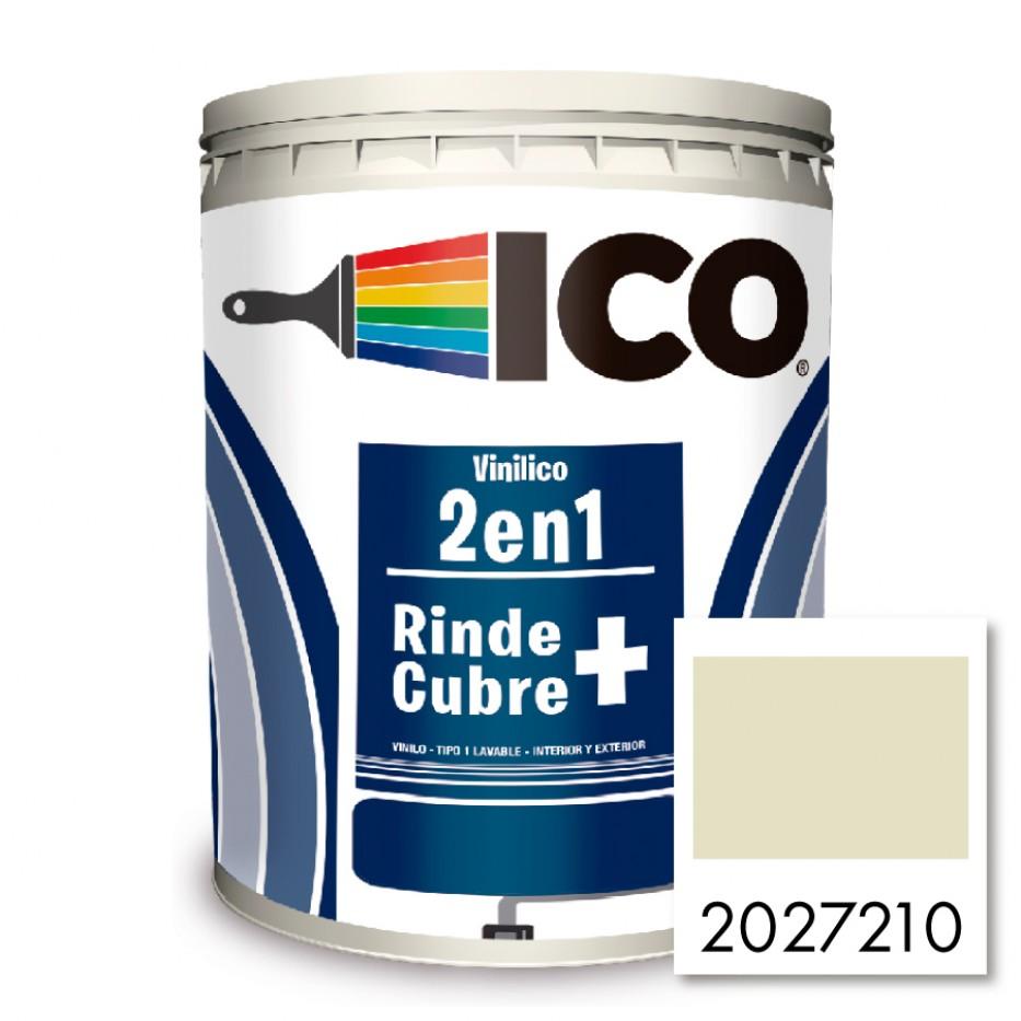Ico Vinilico 2 en 1 Blanco hueso 2027210 Galón