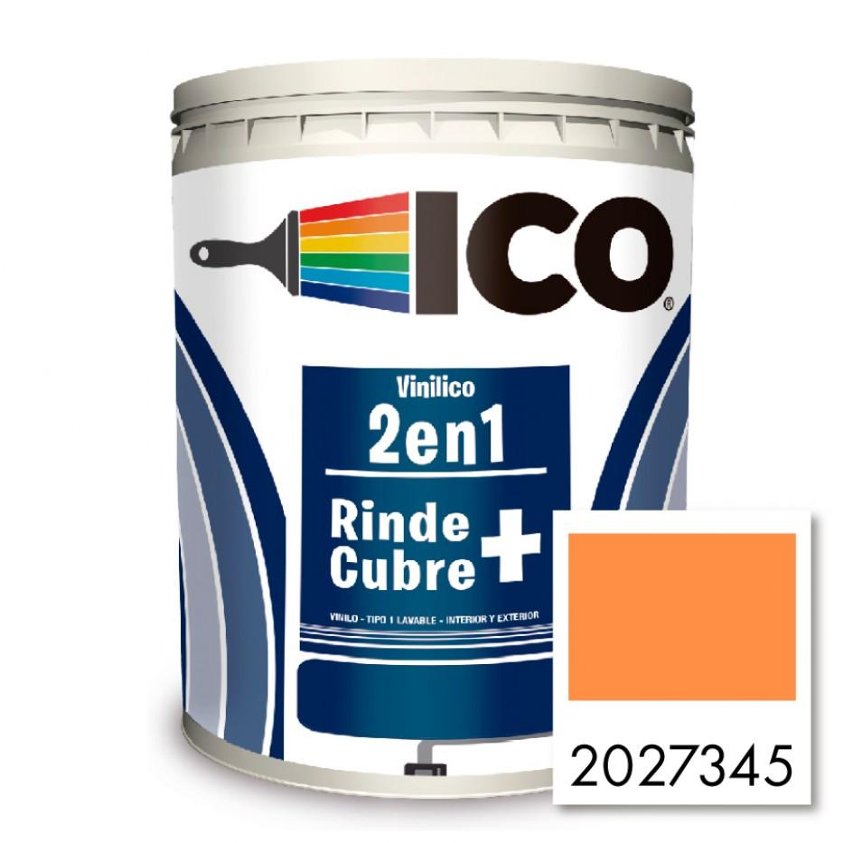 Pintura Ico Vinilico 2 en 1 Mandarina 2027345 Galón