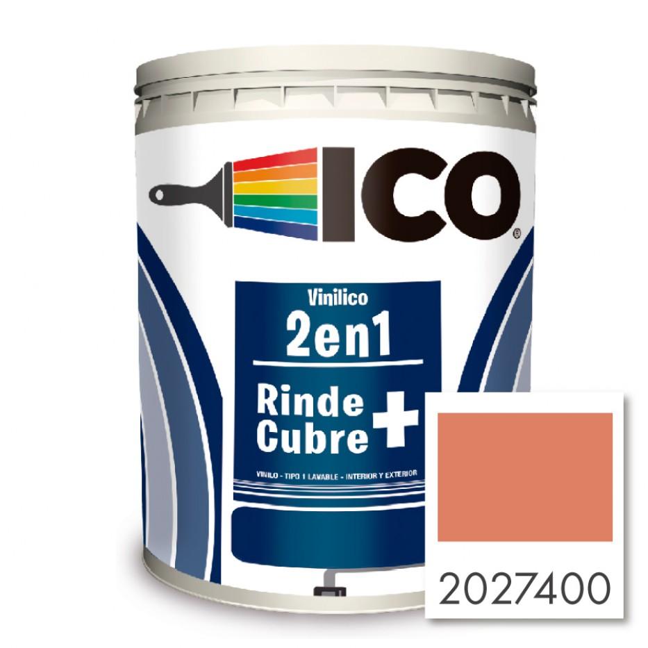 Pintura Ico Vinilico 2 en 1 Terracota 2027400 Galón