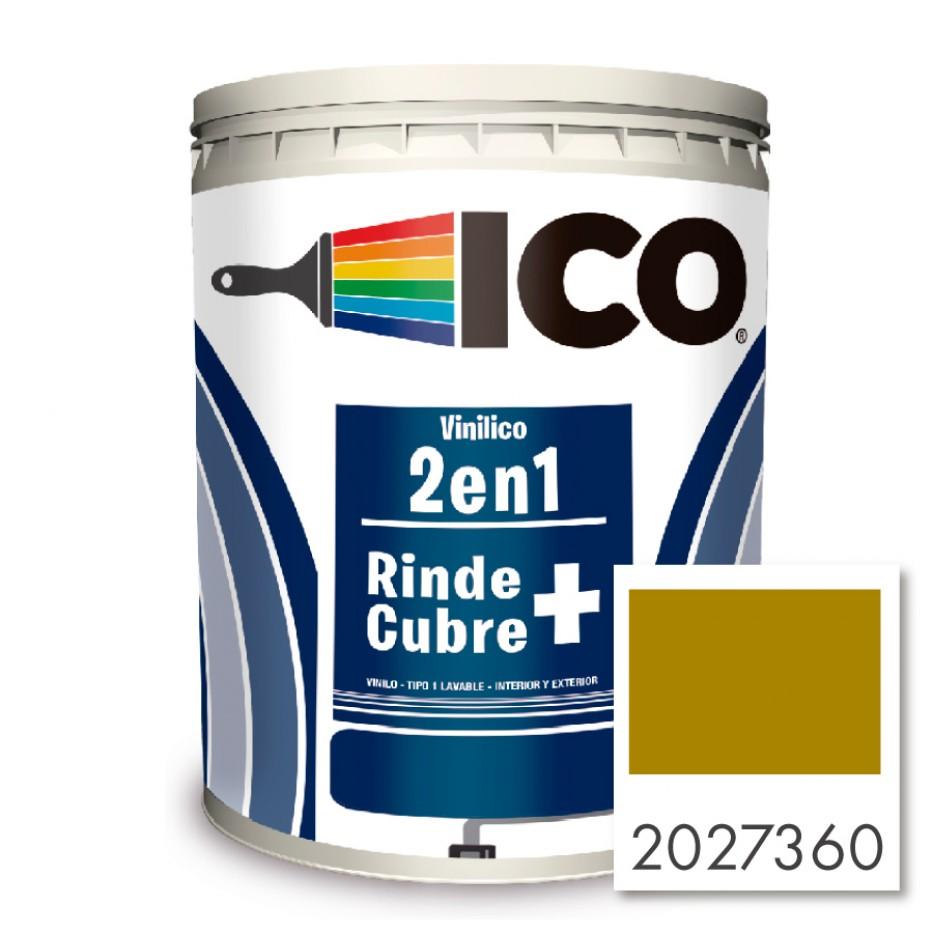 Ico Vinilico 2 en 1 Ocre 2027360 Galón