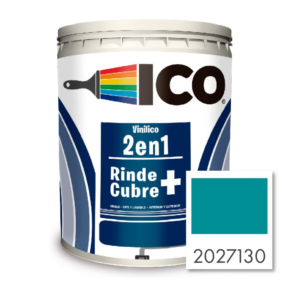 Ico Vinilico 2 en 1 Oceánico 2027130 Galón