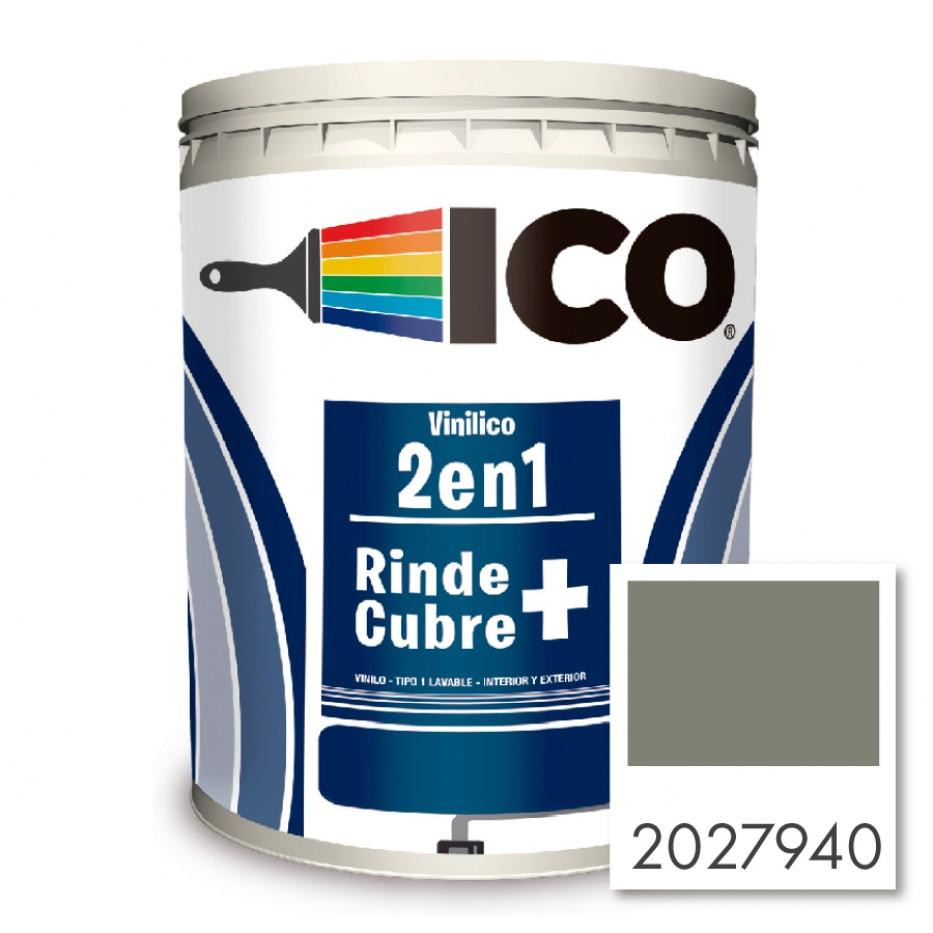 Pintura Ico Vinilico 2 en 1 Gris basalto 2027940 Galón