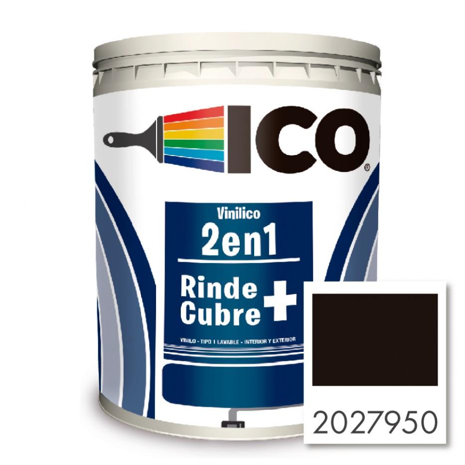 Ico Vinilico 2 en 1 Concentrado Negro 2027950 Galón