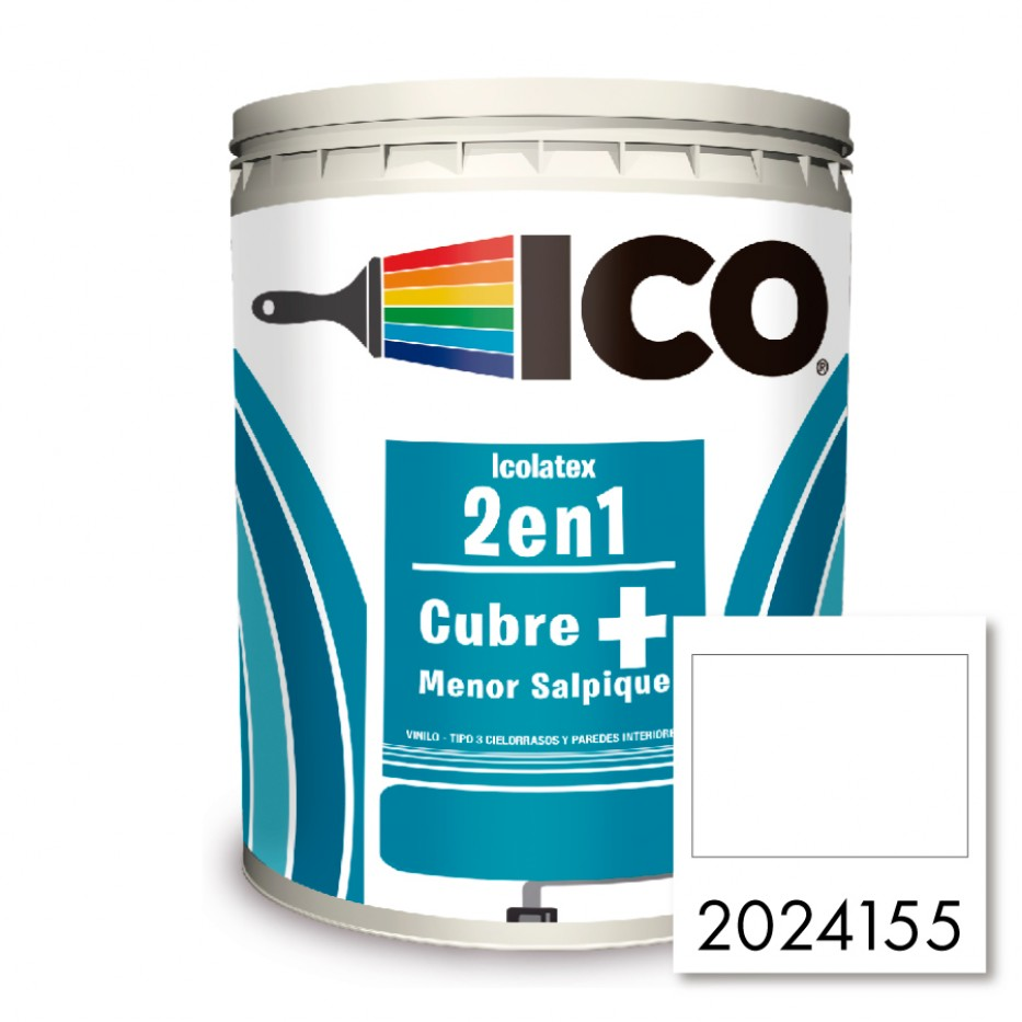 Pintura Ico Icolatex 2 en 1 Blanco 2024155