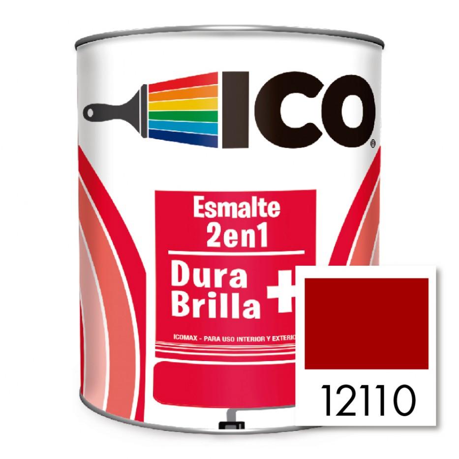 Ico Esmalte 2 en 1 Icomax Rojo bermellón 12110