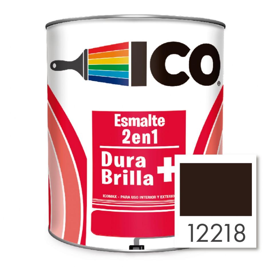 Ico Esmalte 2 en 1 Icomax Caoba 12118