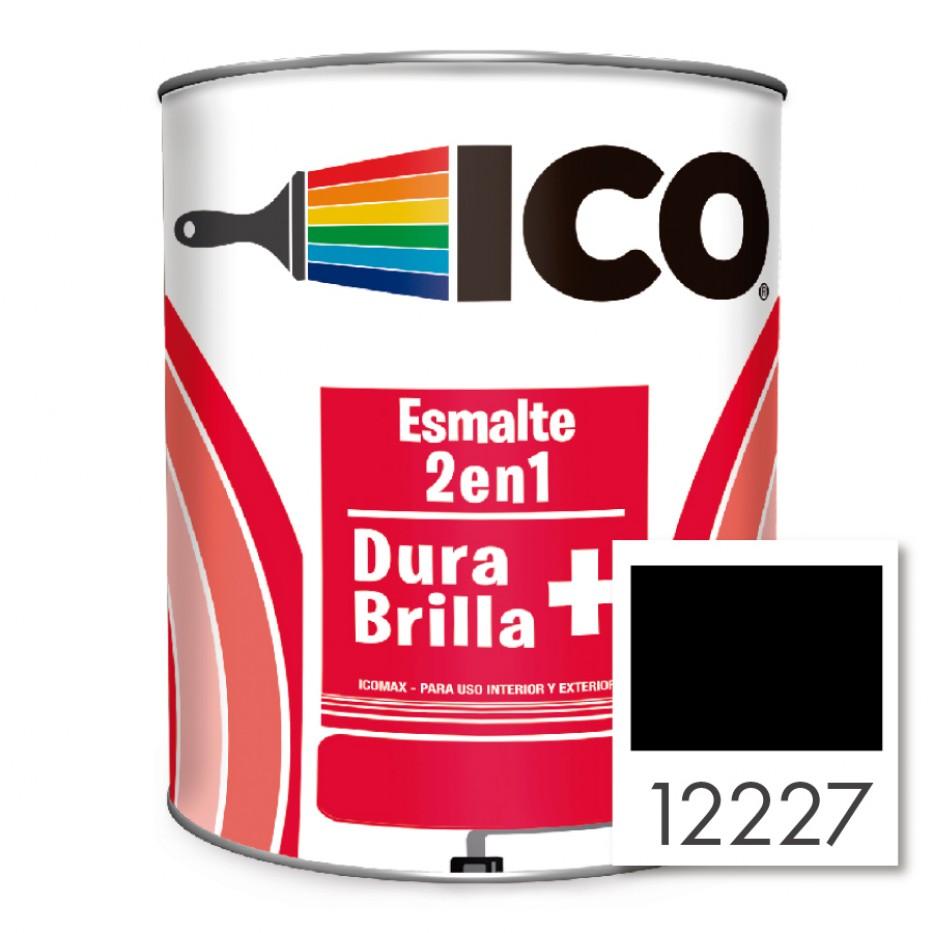 Ico Esmalte 2 en 1 Icomax Negro 12227
