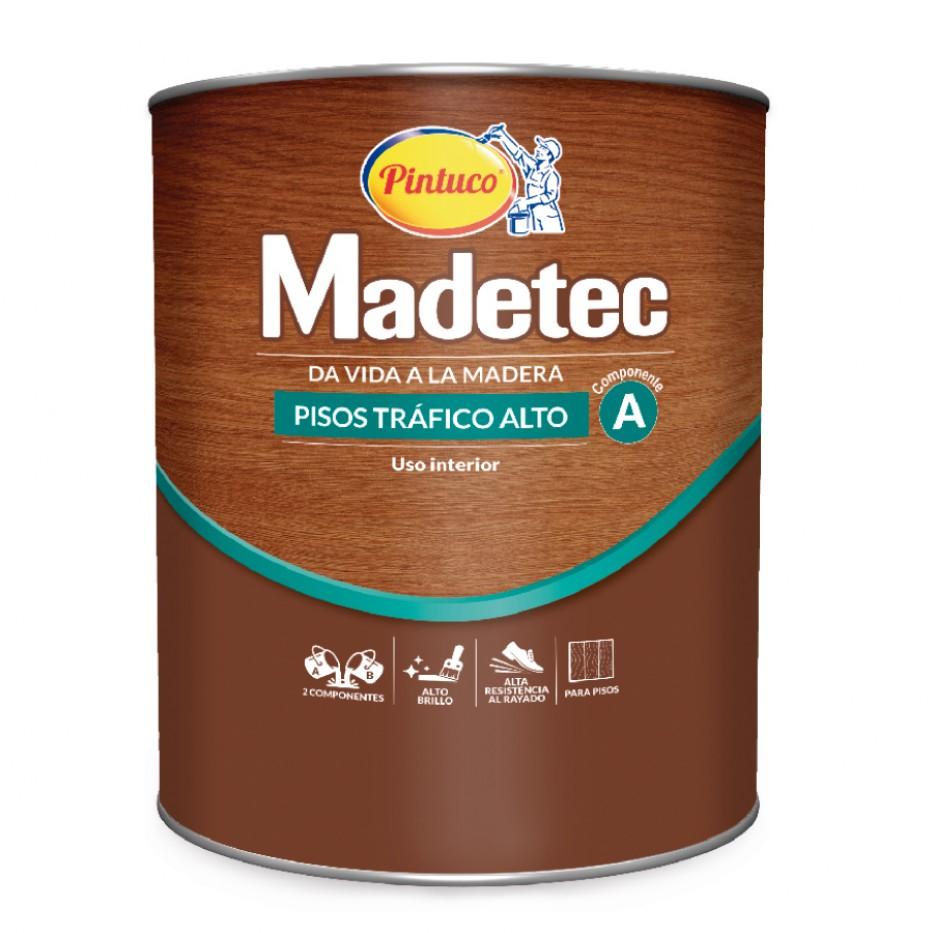 Madetec Pisos alto tráfico Componente A 1550