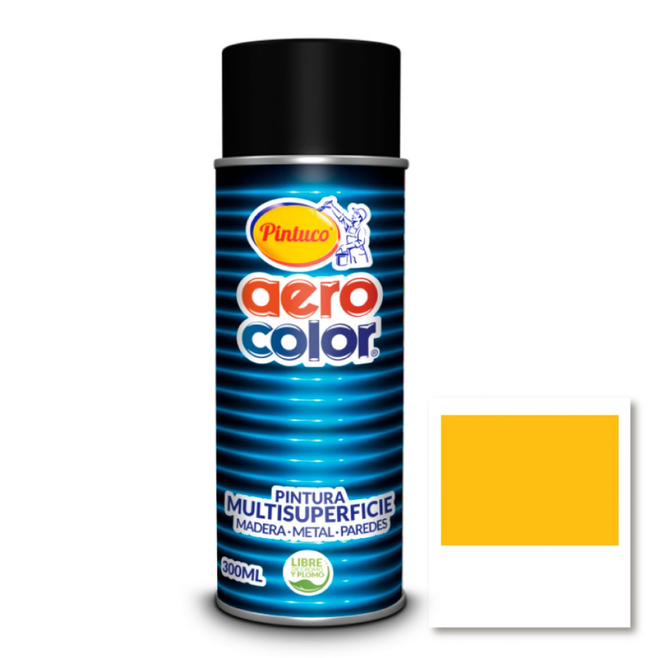 Aerocolor Laca Amarillo taxi brillante 300 ml