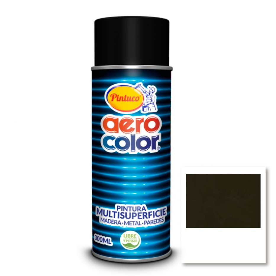 Aerocolor Laca Anoloc oscuro brillante 300 ml