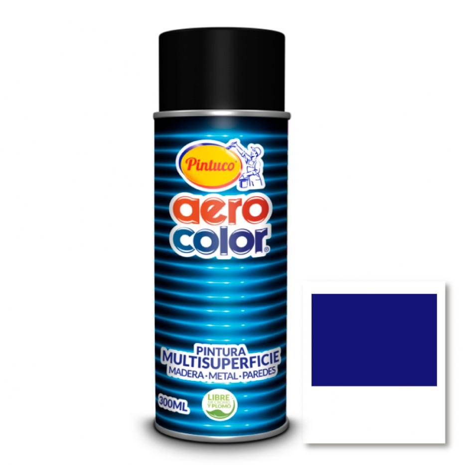 Aerocolor Laca Azul español brillante 300 ml