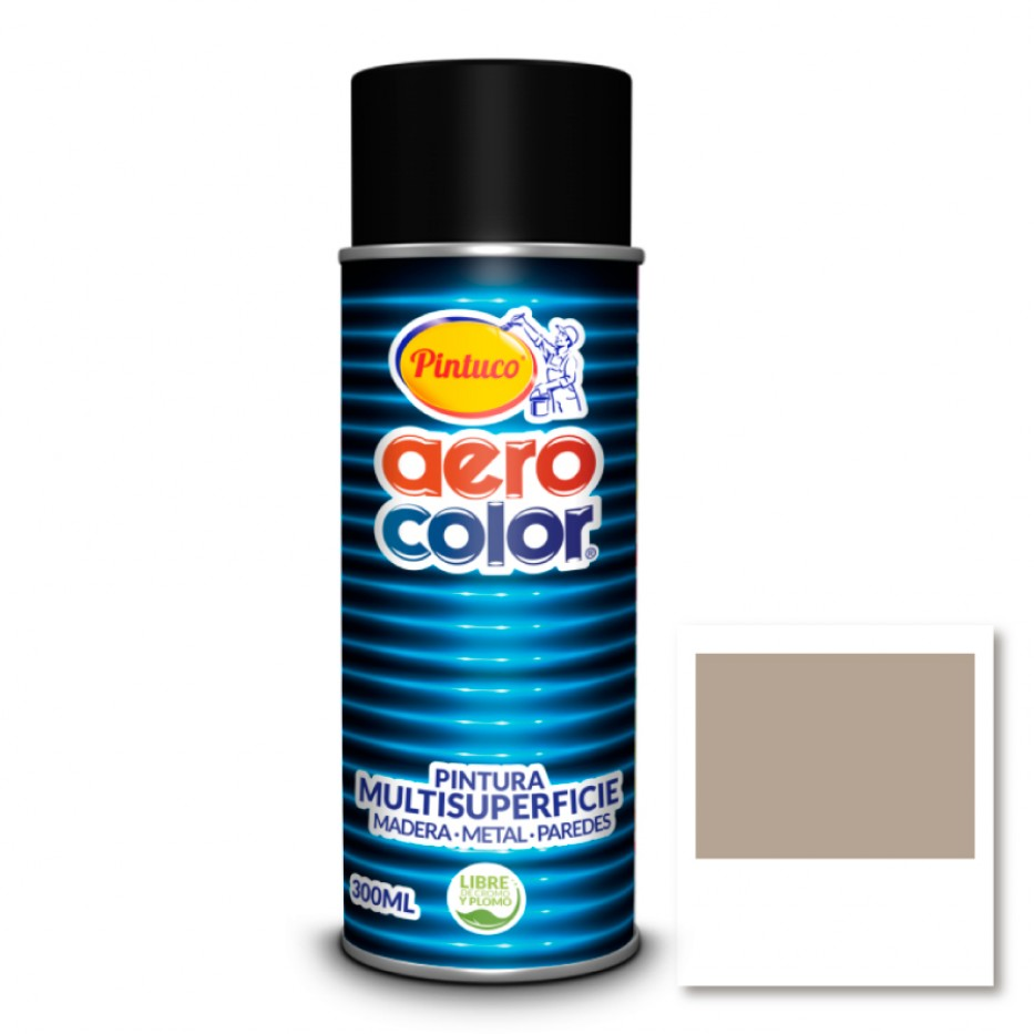Aerocolor Laca Beige marfil brillante 300 ml