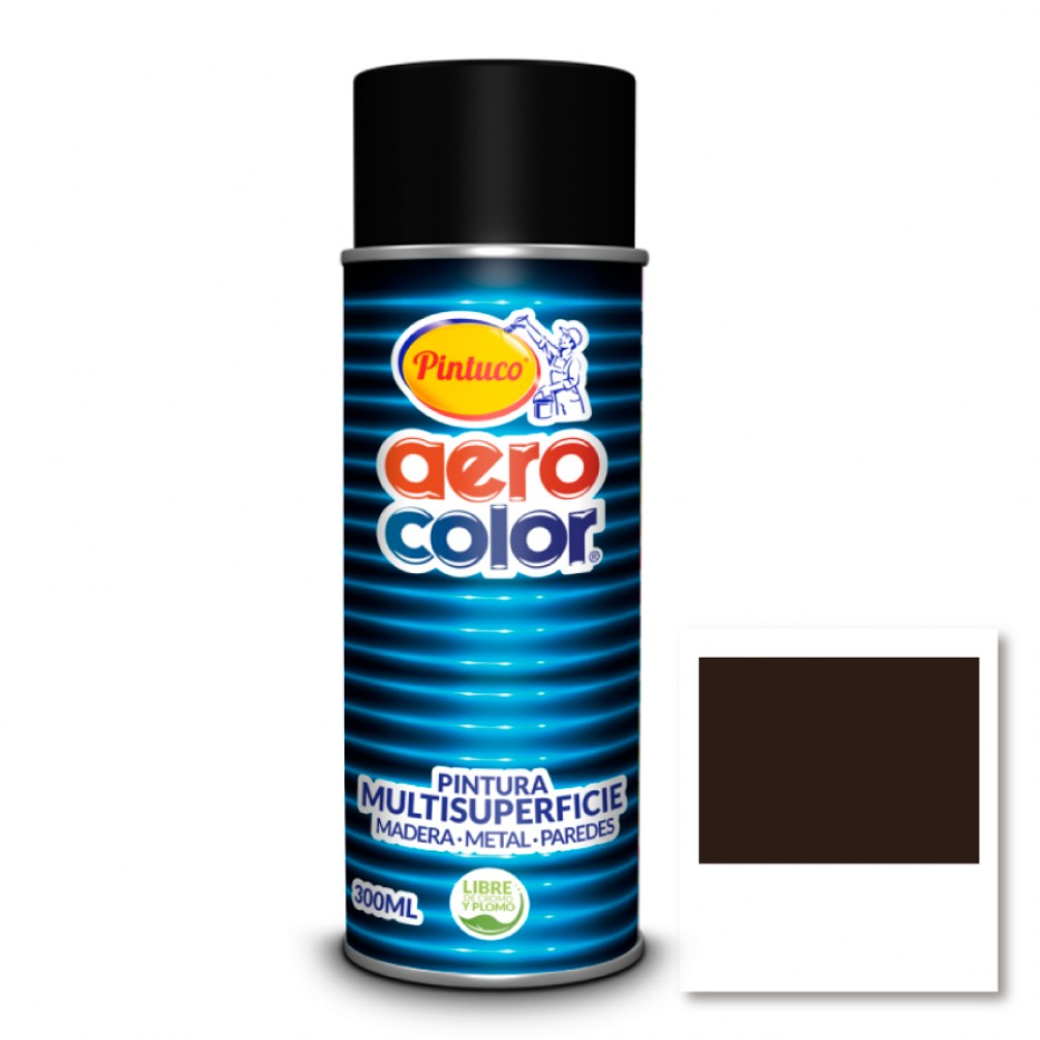 Aerocolor Laca Caoba brillante 300 ml