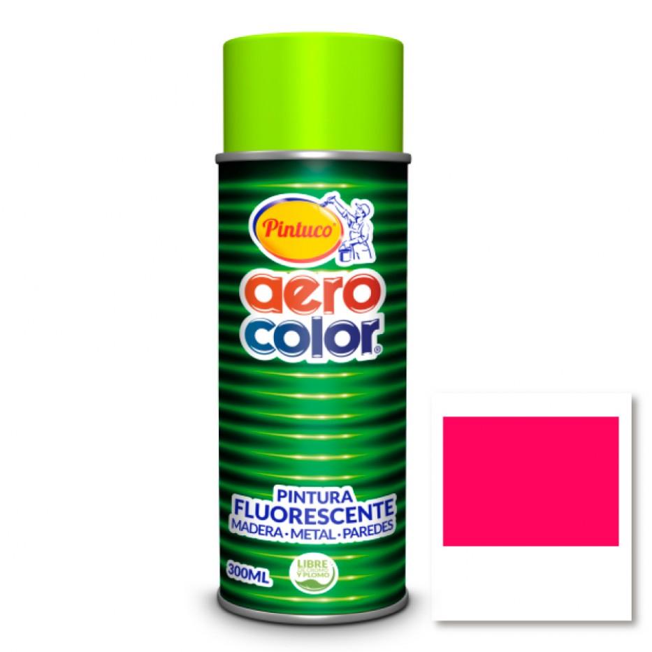 Aerocolor Laca Fluorescente Aurora pink 300 ml