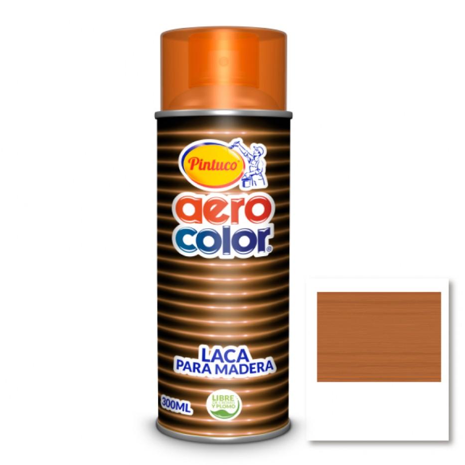 Aerocolor Laca Madera Transparente Caramelo 300 ml