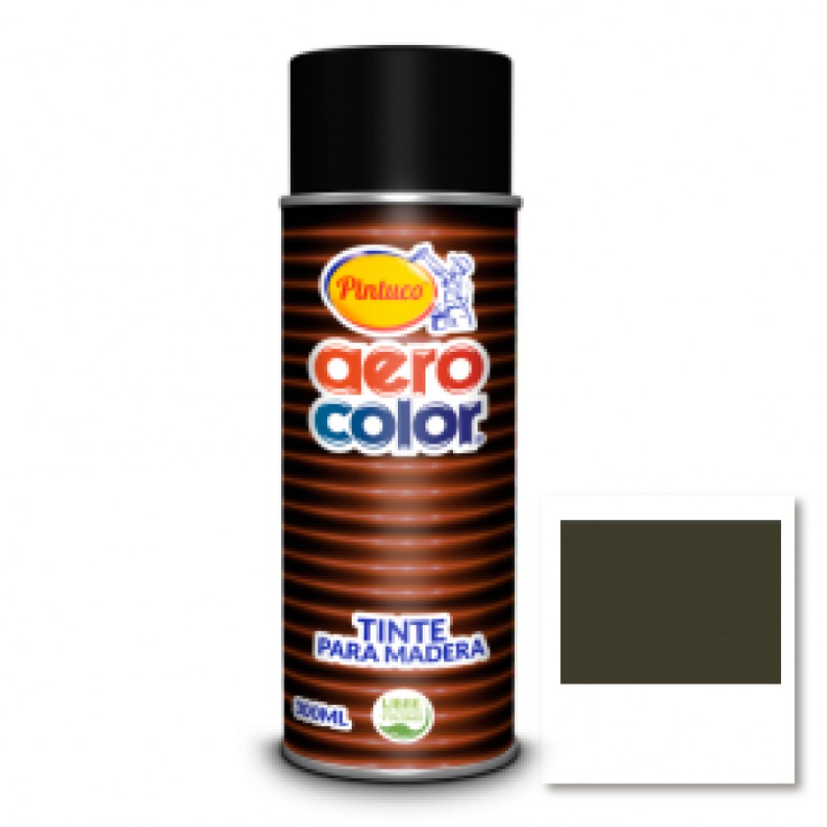 Aerocolor Tinte Madera Wengue 300 ml