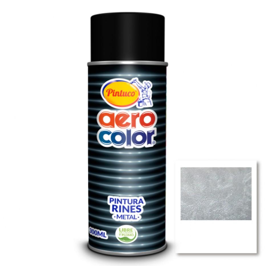 Aerocolor Laca Aluminio Claro Rines 300 ml