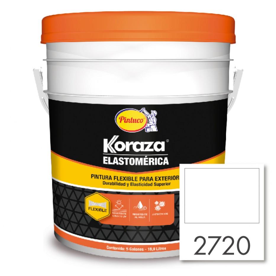 Koraza Elastomérica Blanco 2720 5 Galones