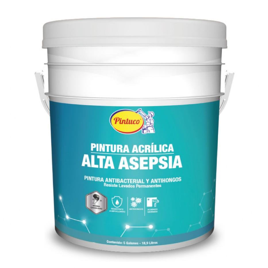 Pintura acrílica Alta asepsia blanco 27580