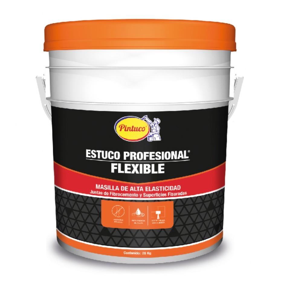 Estuco Profesional flexible Blanco 37060 Caneca 28 kg