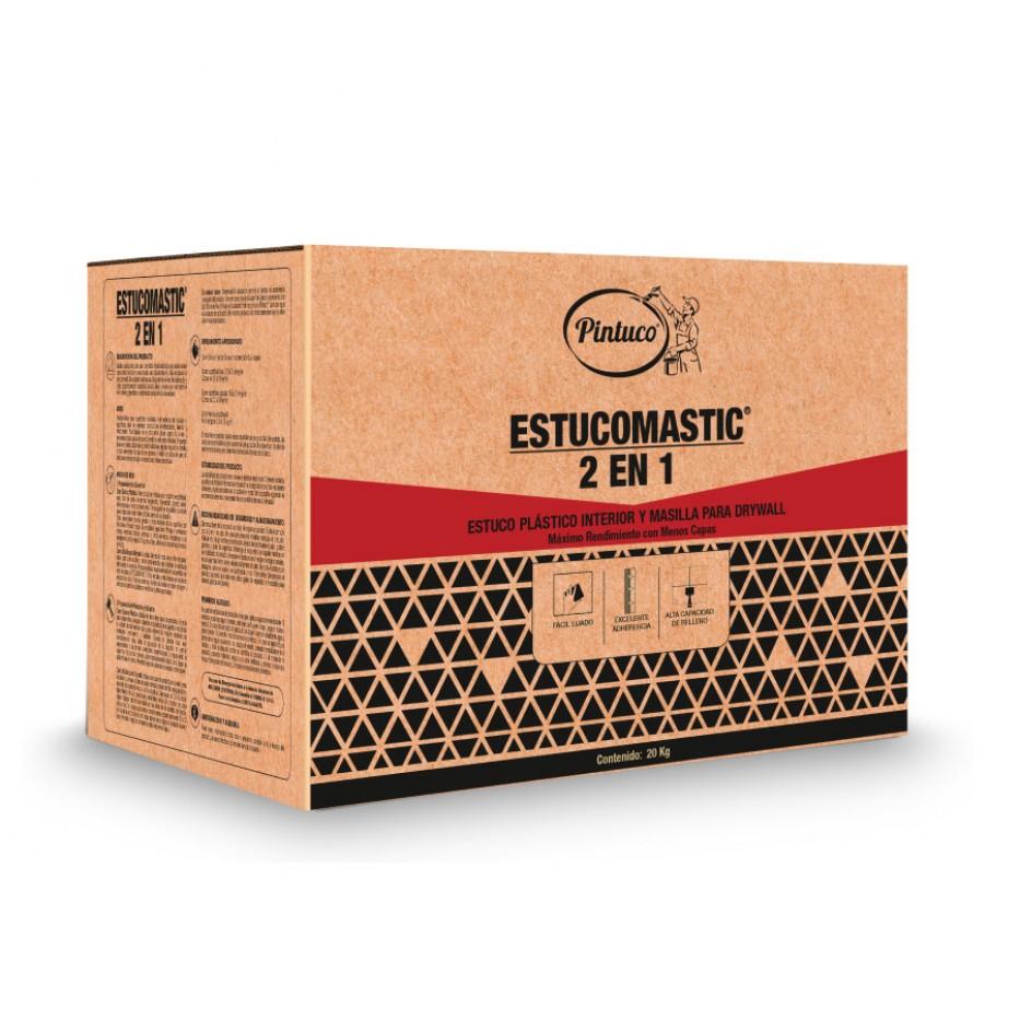 Estucomastic 2 en 1 Blanco 18070