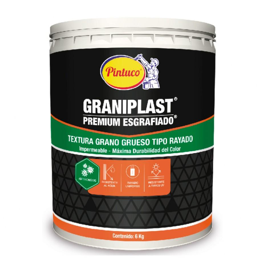 Graniplast premium Esgrafiado Blanco 30401