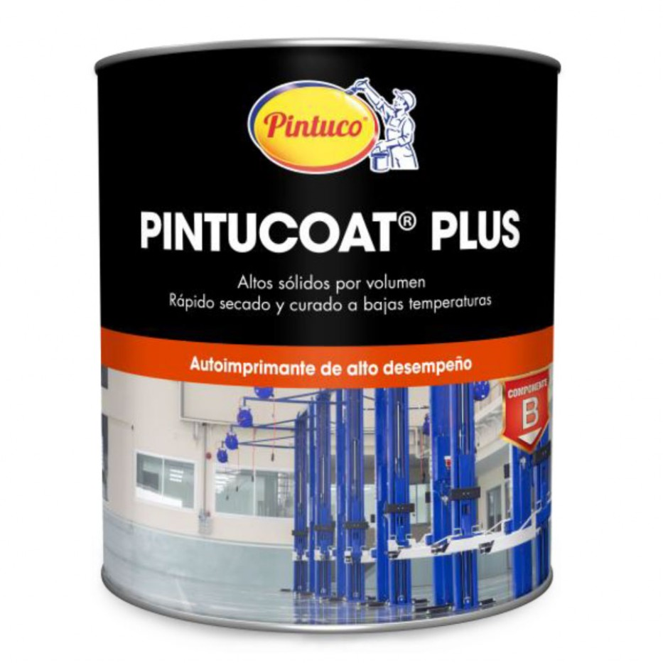 Pintucoat Plus Altos sólidos Comp. A Galón