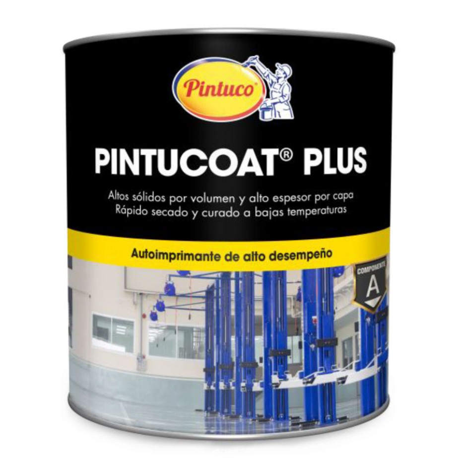 Catalizador Pintucoat Plus Componente B Galón