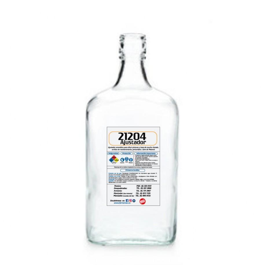 Ajustador medio tráfico 21204 botella