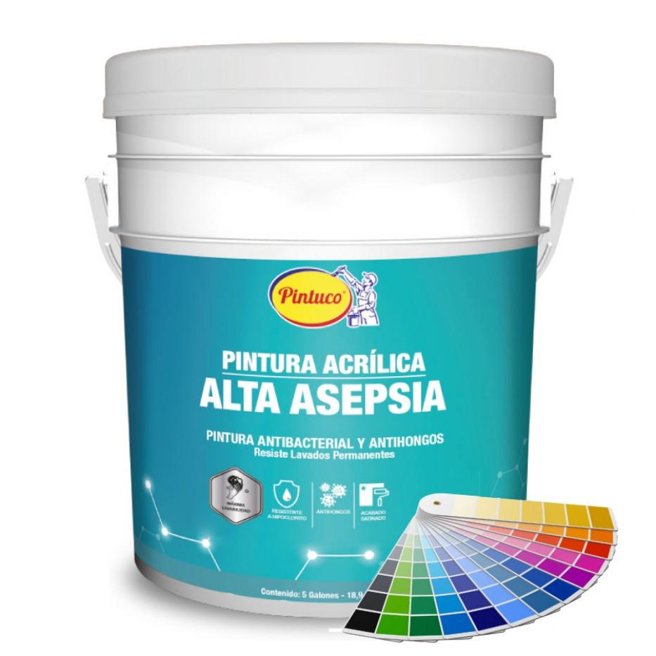 Pintura acrílica Alta asepsia / Tonalidades