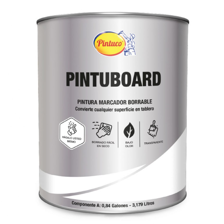 Kit Pintuboard Marcador Borrable