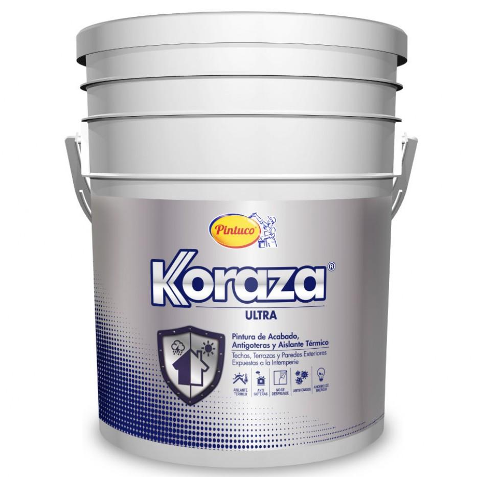 Pintura Koraza Protección 3 en 1 Blanco
