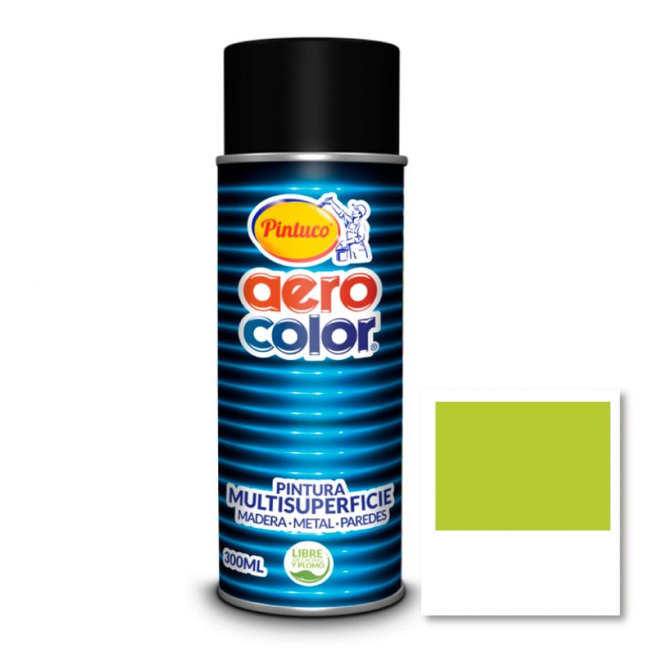 Aerocolor Laca Verde fresco 300 ml