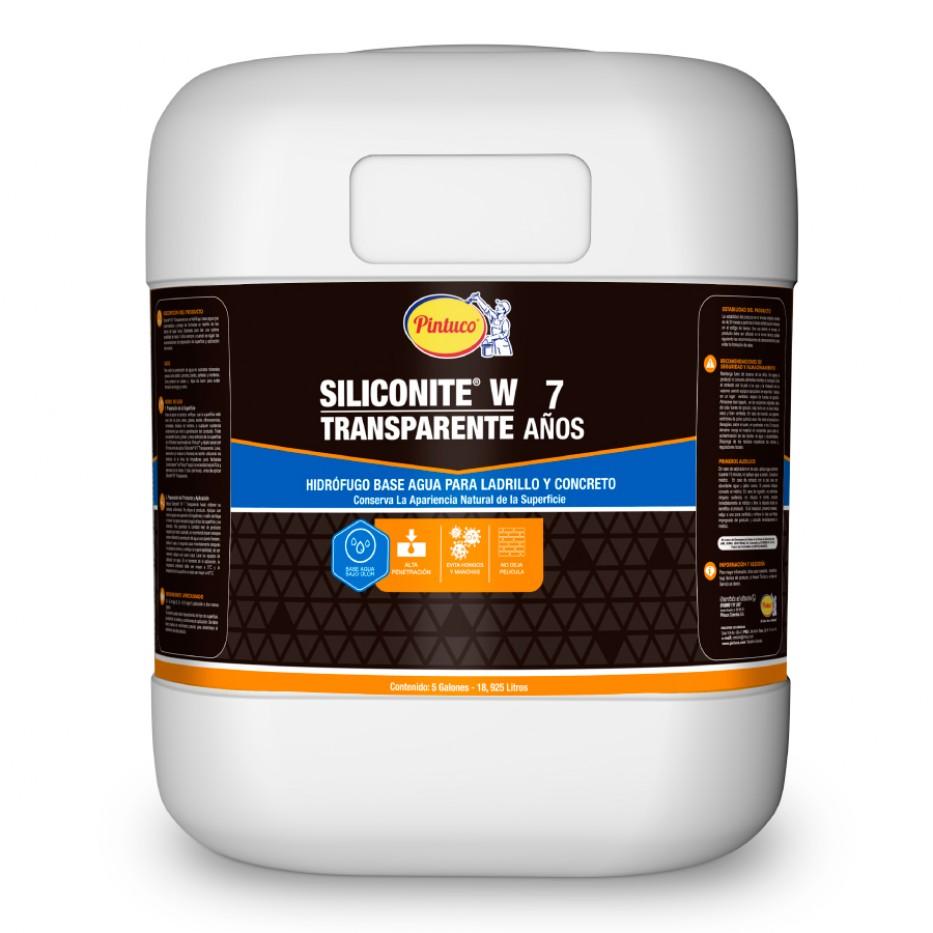 Hidrófugo Siliconite 7W Transparente 5 Galones