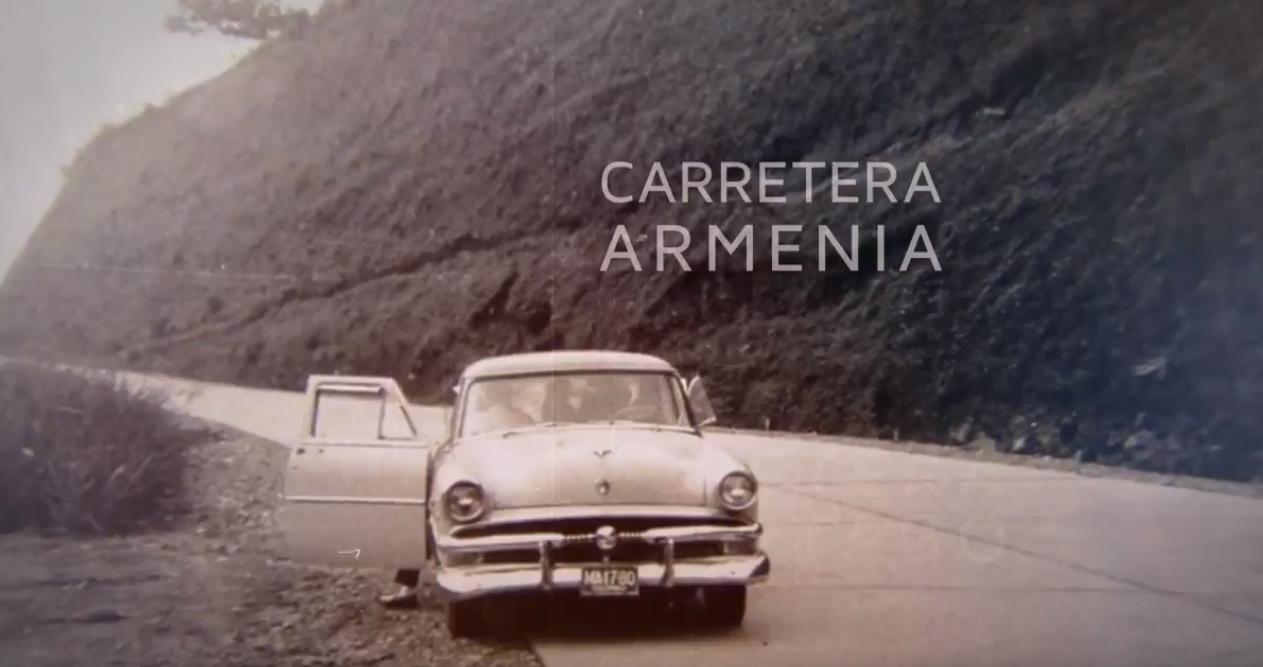 Antigua carretera Armenia