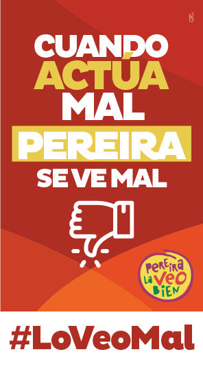 Tarjeta Pereira La Veo Mal