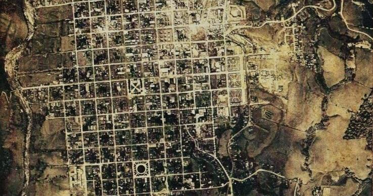 Mapa antiguo de Pereira