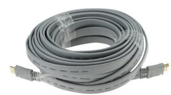 HDMI 1.8 M plano (gris)