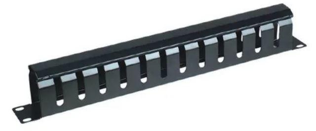 Organizador de cable oval métalico