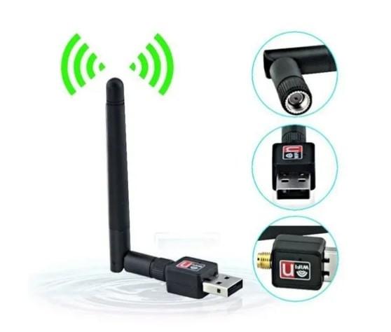 Mini wifi con antena de 2 DBI