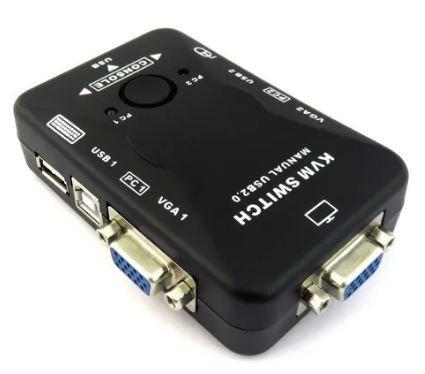 Switch KVM 2 puertos