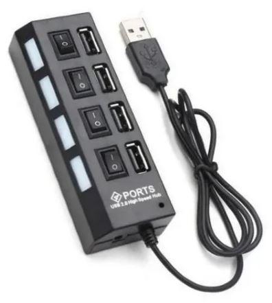 Switch USB 2.0 4 puertos