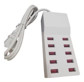 Multitoma cargador x 10 puertos USB 2.0/ 3.0 5 W